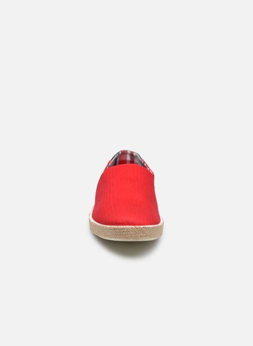 Espadrilles Tommy Hilfiger Granada 2D_1 rot schuhe getragen