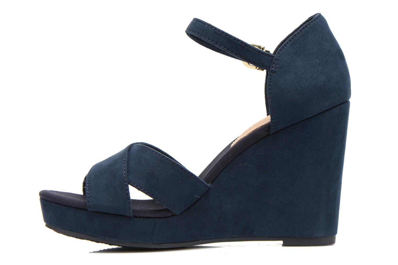 Sandales et nu-pieds Tommy Hilfiger Elena 6D Bleu vue face