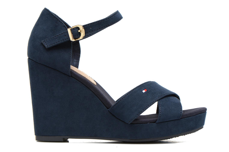Sandales et nu-pieds Tommy Hilfiger Elena 6D Bleu vue derrière