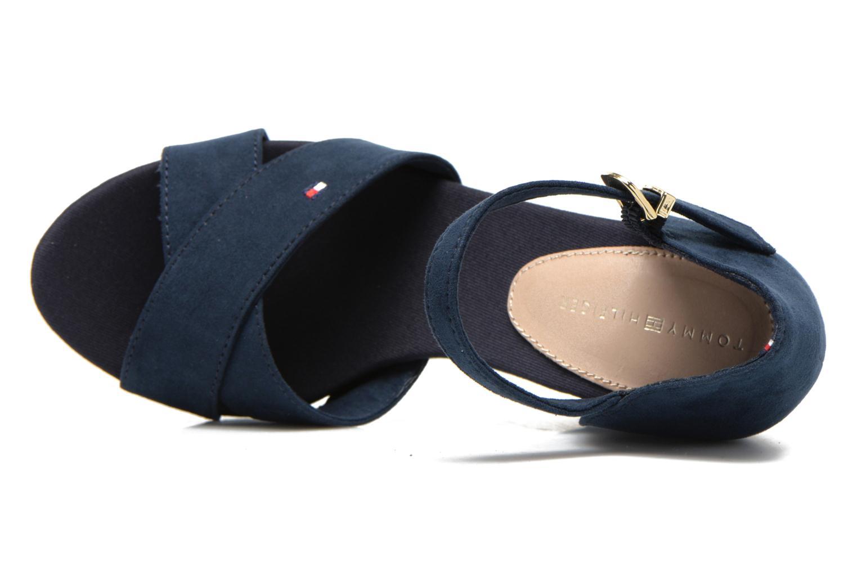 Sandales et nu-pieds Tommy Hilfiger Elena 6D Bleu vue gauche