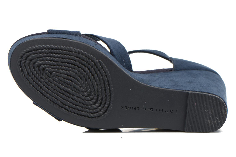 Sandales et nu-pieds Tommy Hilfiger Elena 6D Bleu vue haut