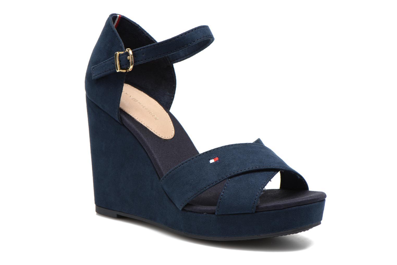 Sandales et nu-pieds Tommy Hilfiger Elena 6D Bleu vue détail/paire