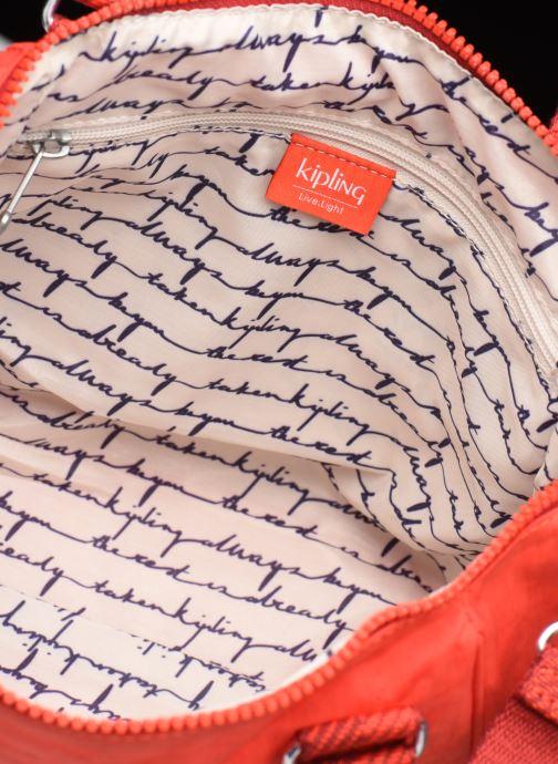 Handtassen kipling Amiel Rood achterkant