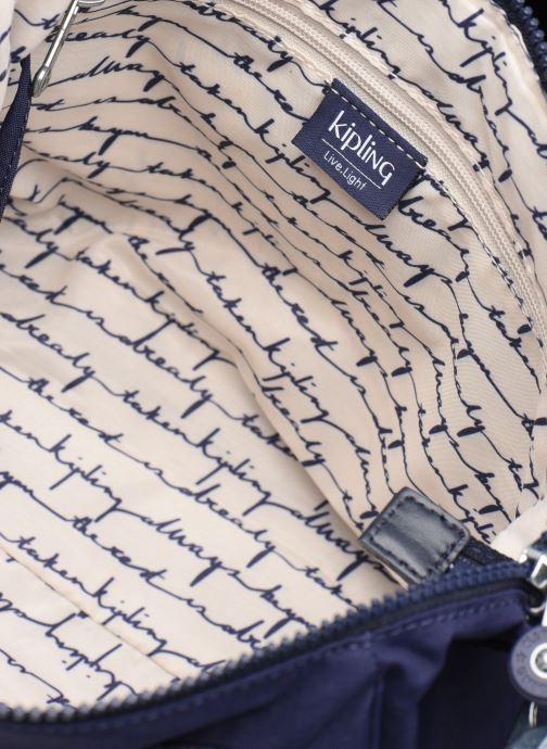 Handtassen Kipling Amiel Blauw achterkant