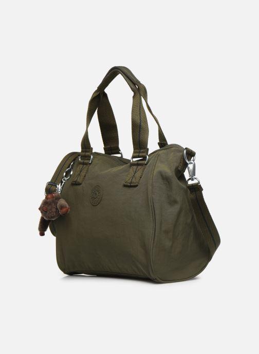 Handtaschen kipling Amiel grün schuhe getragen