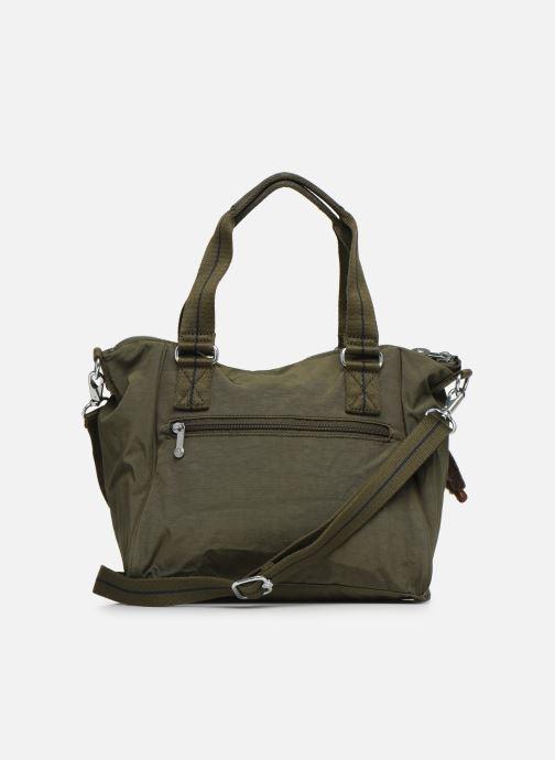Handtaschen kipling Amiel grün ansicht von vorne