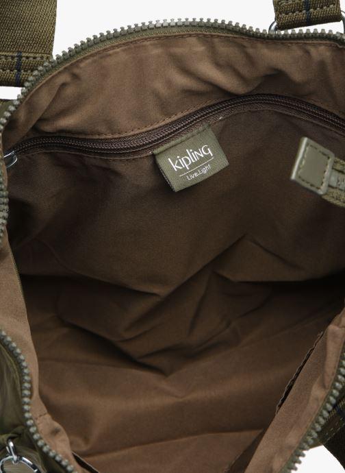 Handtaschen kipling Amiel grün ansicht von hinten