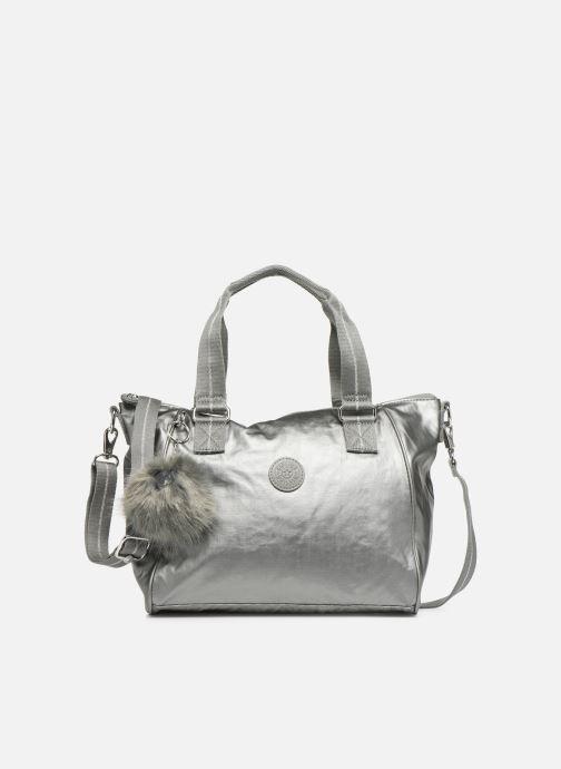 Handtassen kipling Amiel Zilver detail
