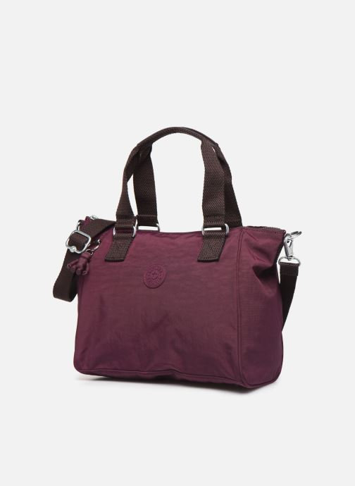 Handtaschen Kipling Amiel weinrot schuhe getragen