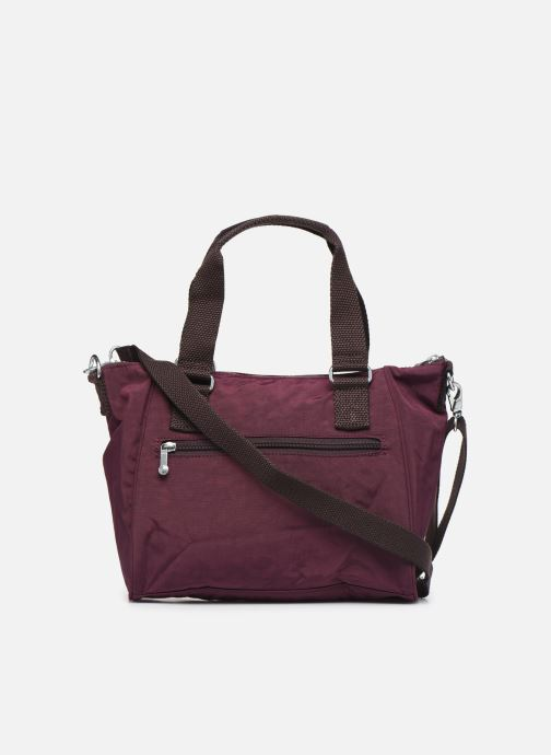 Handtaschen kipling Amiel weinrot ansicht von vorne