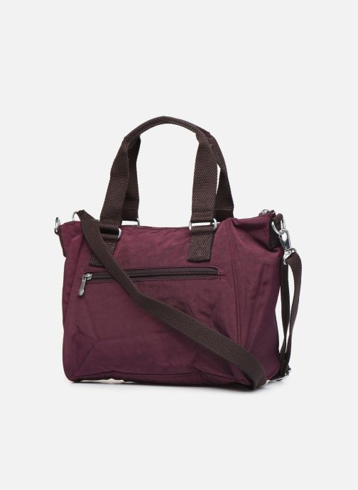 Handtaschen kipling Amiel weinrot ansicht von rechts