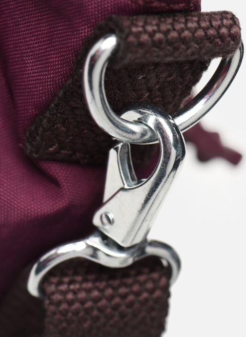 Handtaschen Kipling Amiel weinrot ansicht von links