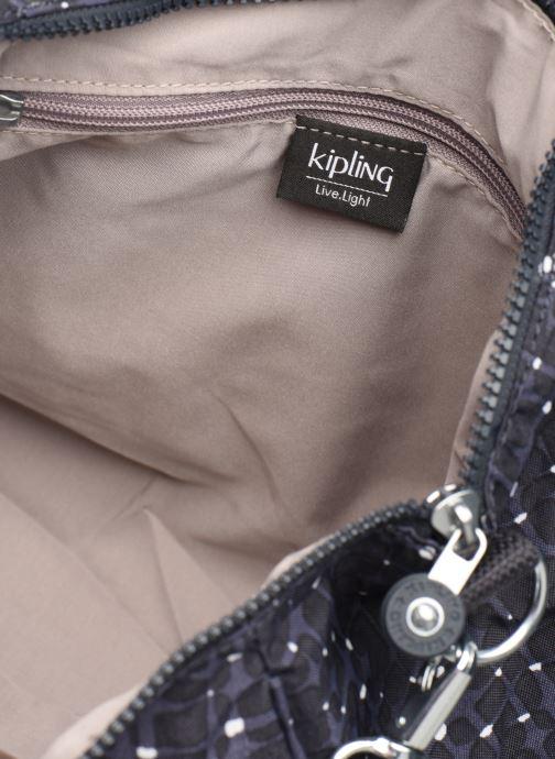 Handtaschen kipling Amiel blau ansicht von hinten