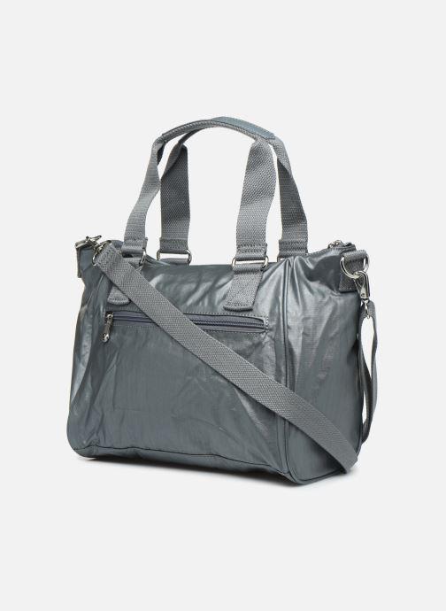 Handtaschen Kipling Amiel silber ansicht von rechts