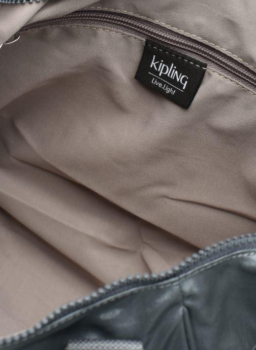 Handtaschen Kipling Amiel silber ansicht von hinten