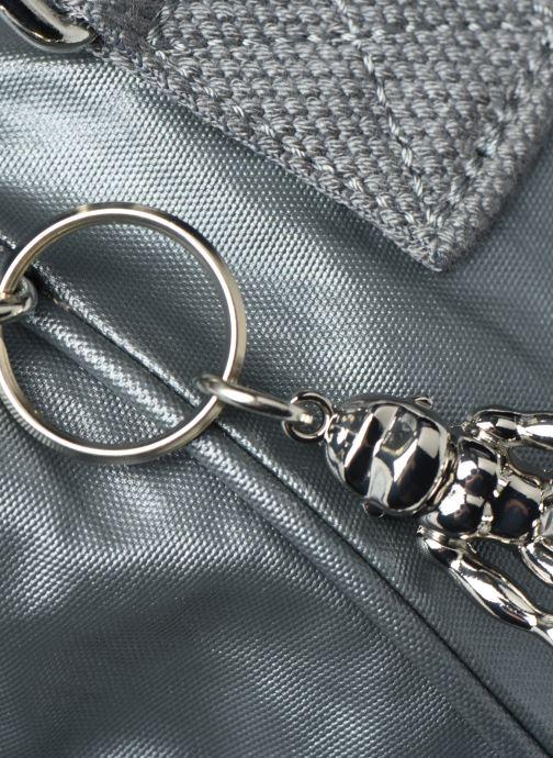 Handtaschen Kipling Amiel silber ansicht von links