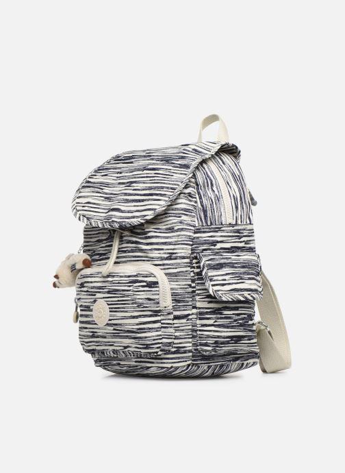Rucksäcke kipling City pack S weiß schuhe getragen
