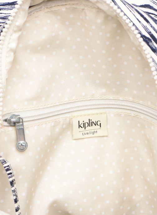 Sacs à dos kipling City pack S Blanc vue derrière