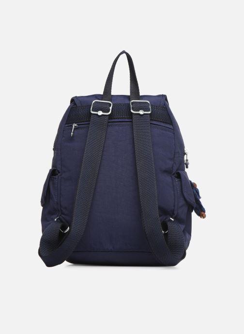Rucksäcke Kipling City pack S blau ansicht von vorne