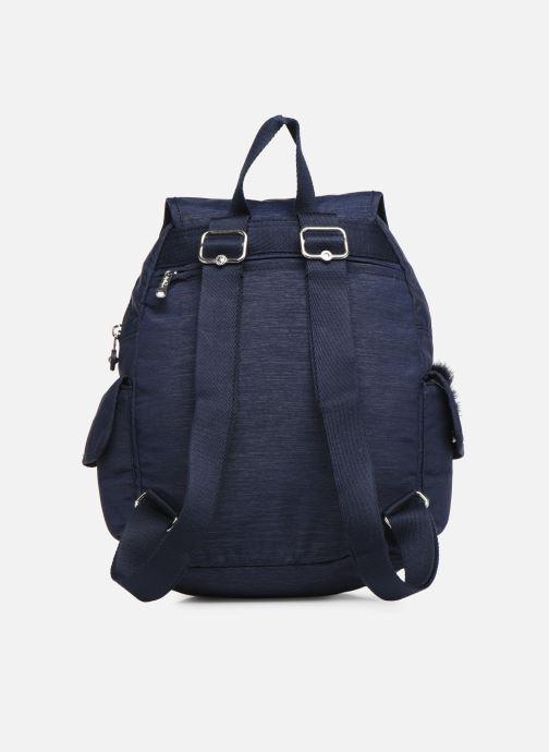 Mochilas Kipling City pack S Azul vista de frente