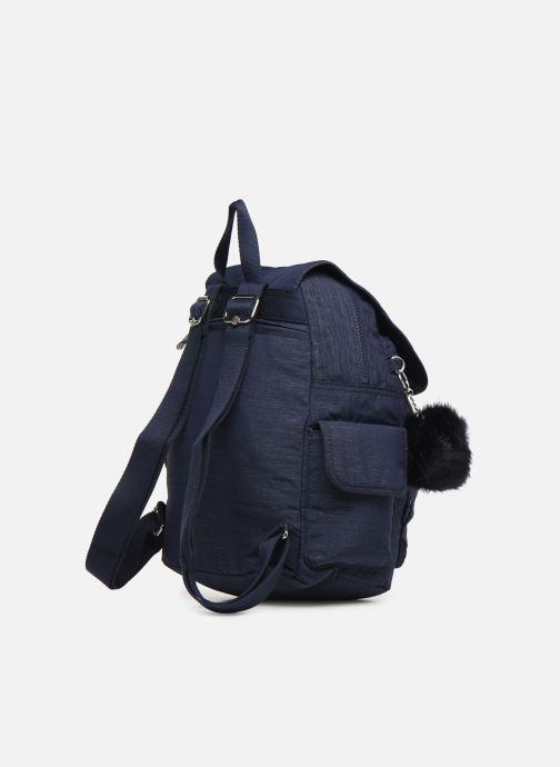 Sacs à dos kipling City pack S Bleu vue droite