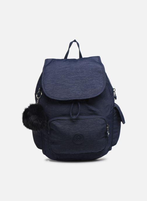 Mochilas Kipling City pack S Azul vista de detalle / par