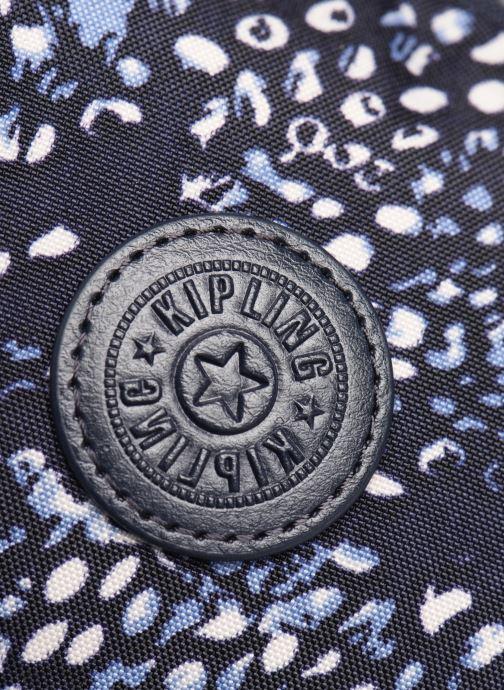 Mochilas Kipling City pack S Azul vista lateral izquierda