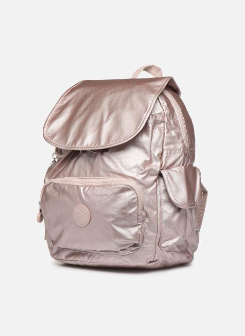 Rucksäcke kipling City pack S rosa schuhe getragen