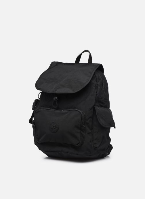 Rucksäcke Kipling City pack S schwarz schuhe getragen