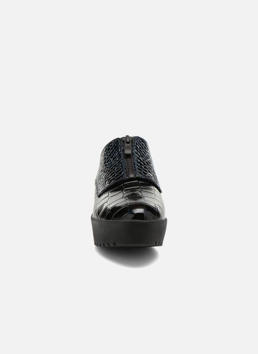 Chaussures à lacets Opening Ceremony CROC FRONT ZIP Bleu vue portées chaussures
