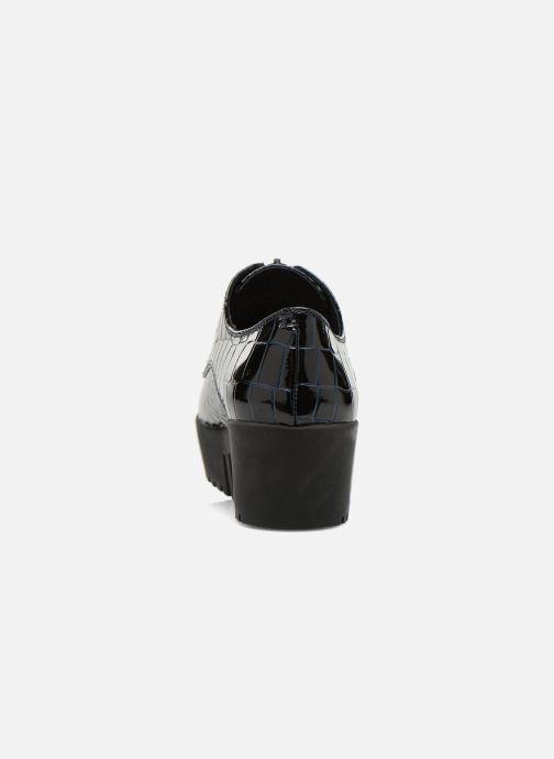 Chaussures à lacets Opening Ceremony CROC FRONT ZIP Bleu vue droite