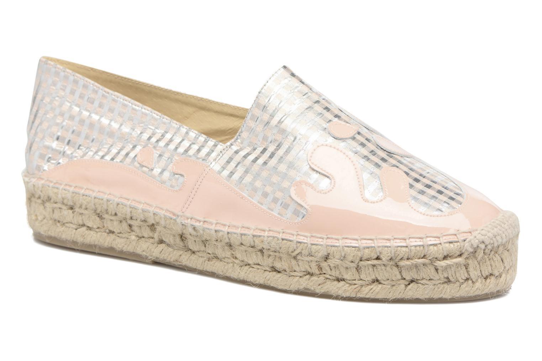 Espadrillos Apologie Ink Pink detaljeret billede af skoene