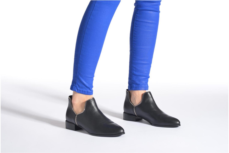 Bottines et boots SENSO BAILEY VII Noir vue bas / vue portée sac