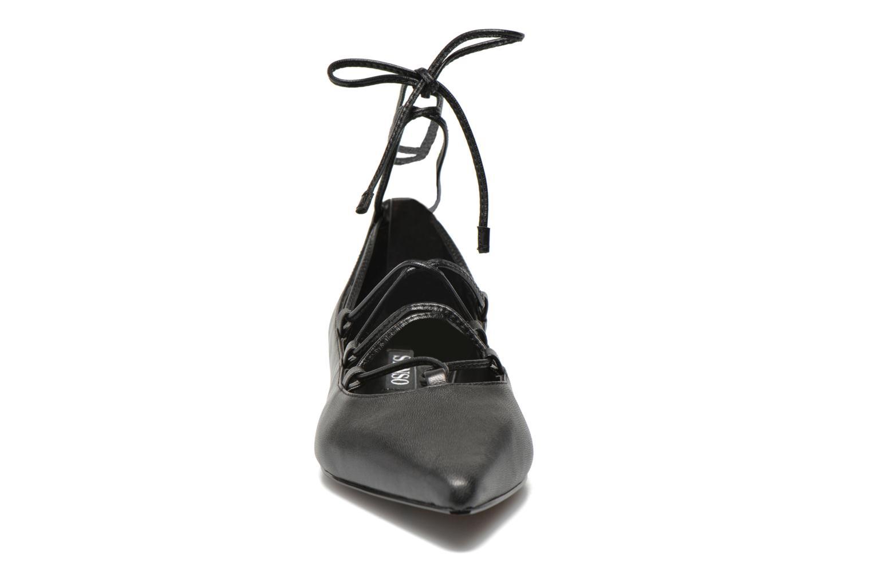 Ballerines SENSO GIA V Noir vue portées chaussures