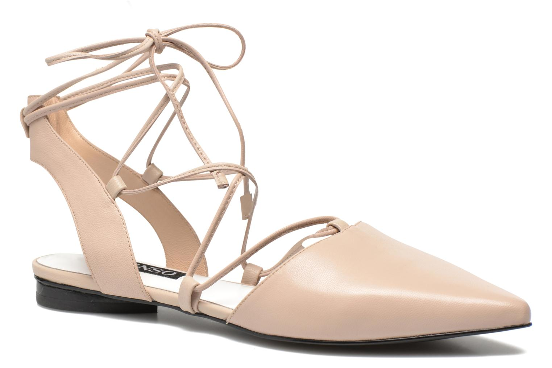 Ballerinaer SENSO GORDON Beige detaljeret billede af skoene