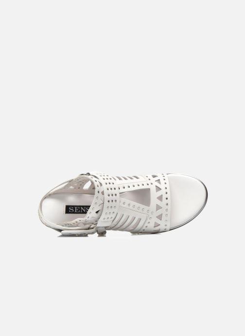 Sandali e scarpe aperte SENSO MACKENZY Bianco immagine sinistra