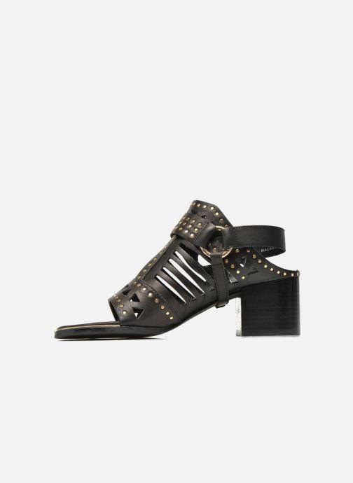 Sandales et nu-pieds SENSO MACKENZY Noir vue face
