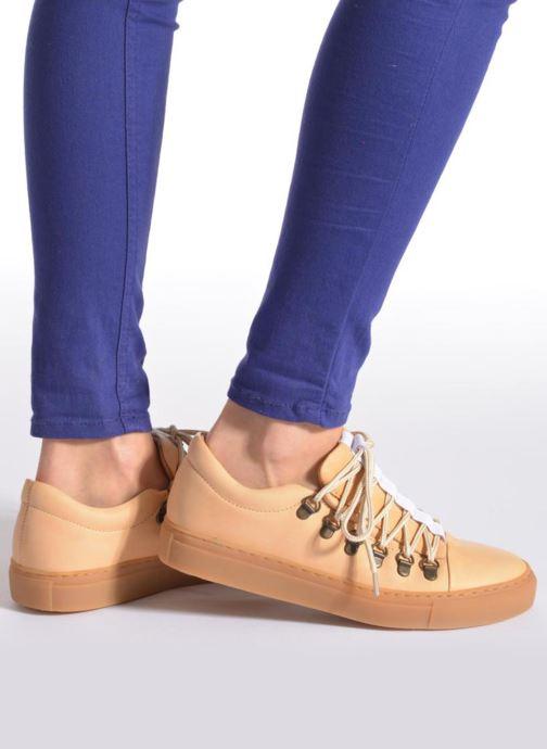Zapatos con cordones Swear BRIAN 3 Beige vista de abajo