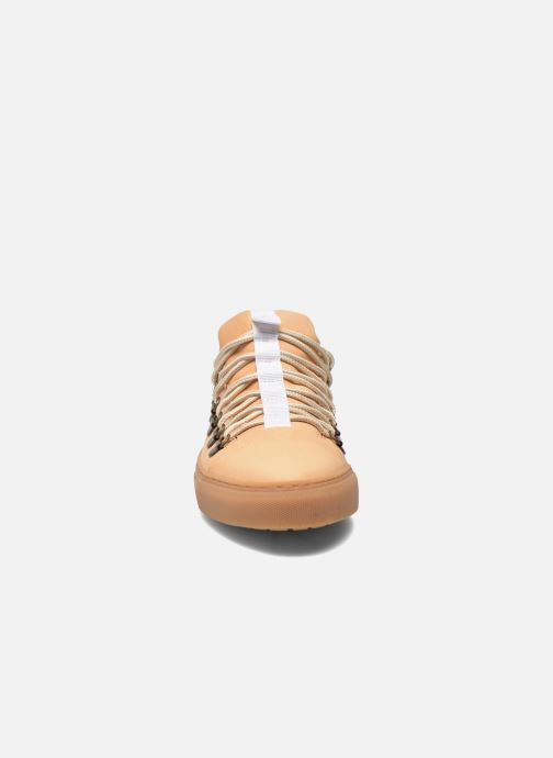 Schnürschuhe Swear BRIAN 3 beige schuhe getragen