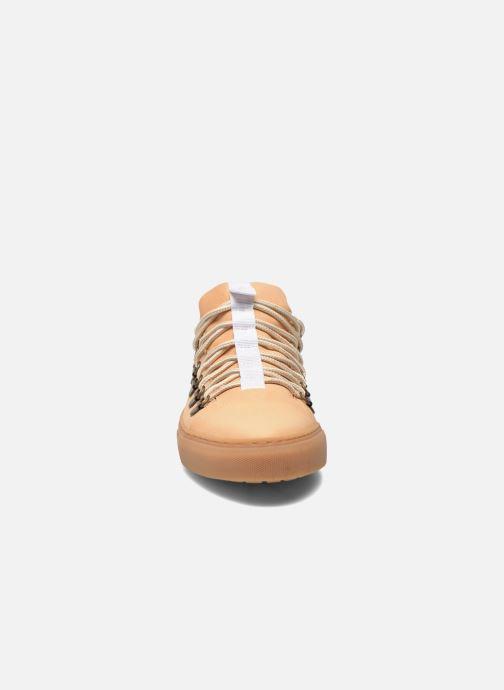 Zapatos con cordones Swear BRIAN 3 Beige vista del modelo
