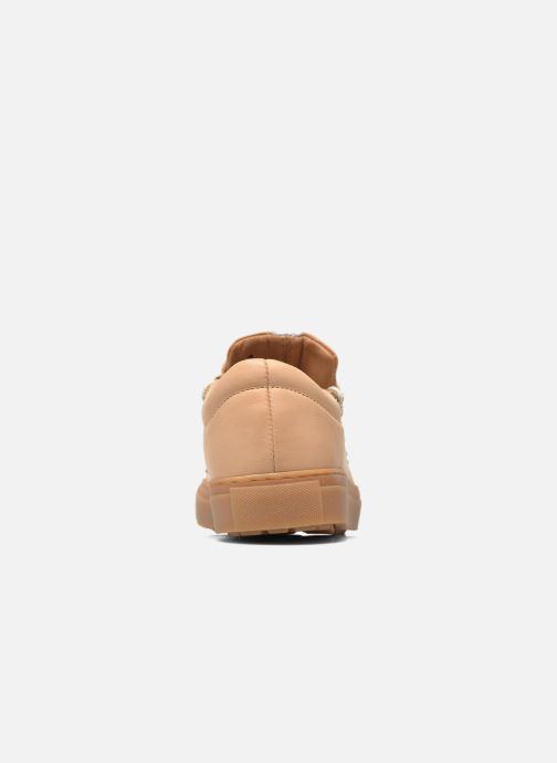 Zapatos con cordones Swear BRIAN 3 Beige vista lateral derecha
