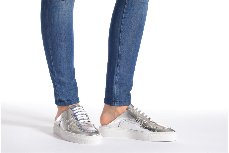 Chaussures à lacets Swear BLAKE 8 Blanc vue bas / vue portée sac