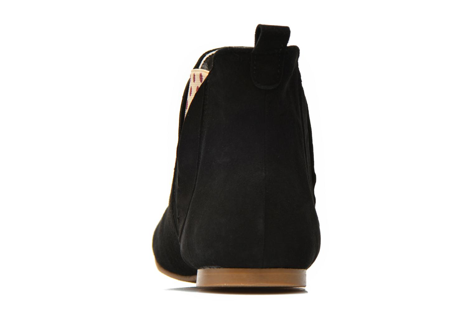 Ankle boots Ippon Vintage Sun flydots Black view from the right