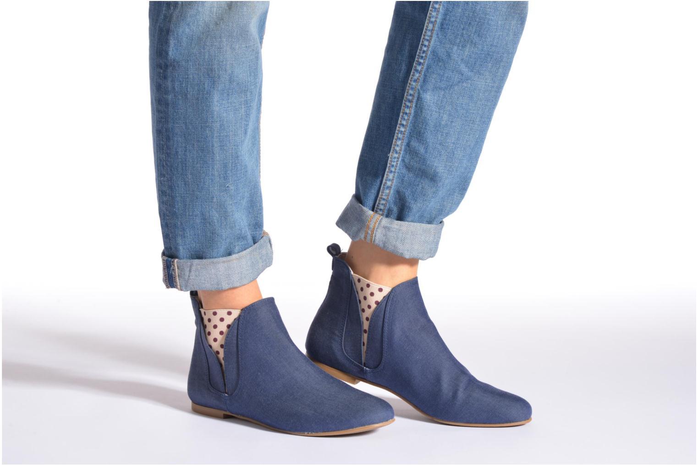 Bottines et boots Ippon Vintage Sun flydots J Bleu vue bas / vue portée sac