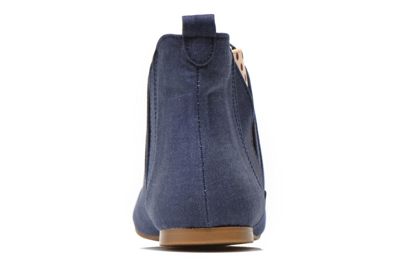 Bottines et boots Ippon Vintage Sun flydots J Bleu vue droite