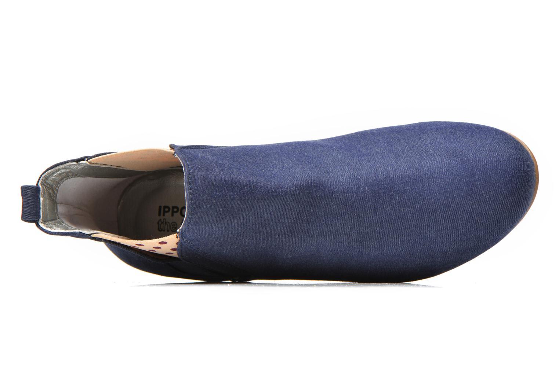 Bottines et boots Ippon Vintage Sun flydots J Bleu vue gauche
