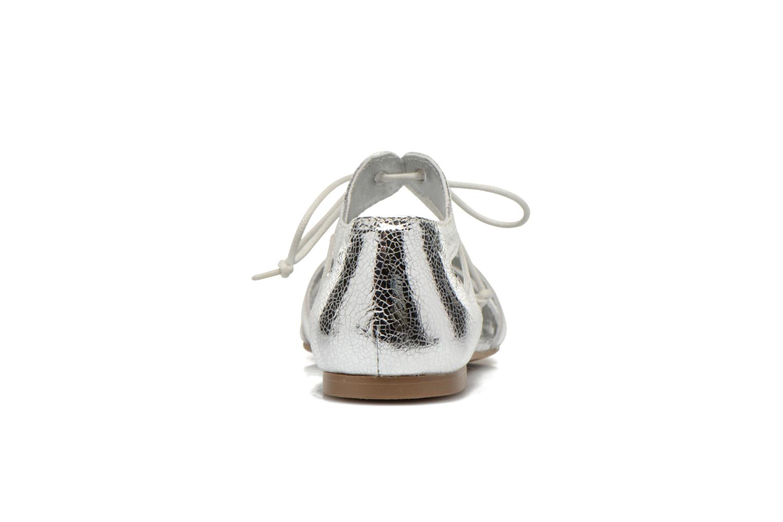 Sandales et nu-pieds Ippon Vintage Popies metal Argent vue droite