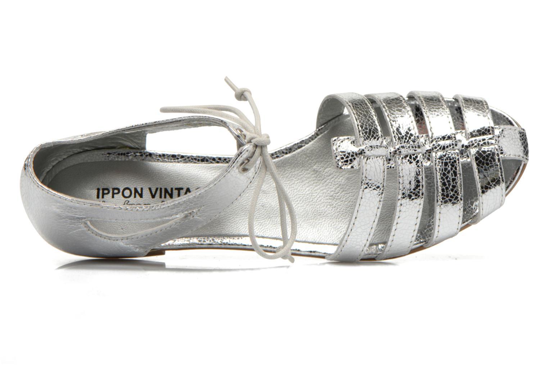 Sandales et nu-pieds Ippon Vintage Popies metal Argent vue gauche