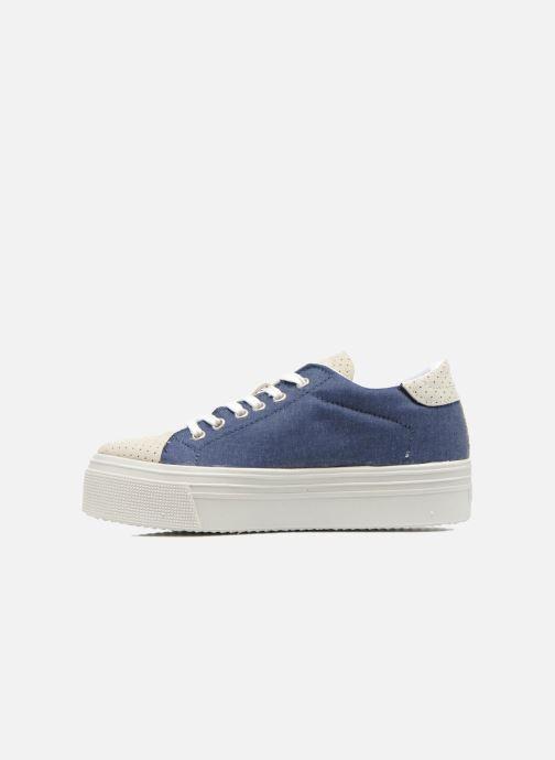 Sneaker Ippon Vintage Tokyo jeans blau ansicht von vorne