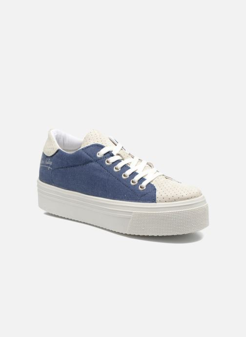 Baskets Ippon Vintage Tokyo jeans Bleu vue détail/paire